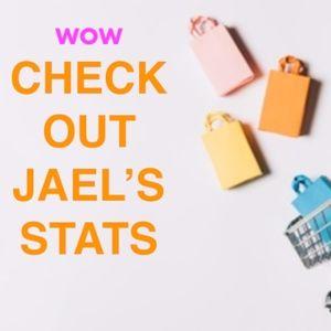 Other - OMG JAELJAELJAEL'S STATS 4.9 XOXOX over 300 buyers